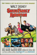 "Movie Posters:Adventure, Swiss Family Robinson & Others Lot (Buena Vista, R-1972). OneSheets (7) (27"" X 41"", 27"" X 40""), Advance Roadshow One Sheet...(Total: 8 Items)"
