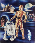 "Movie Posters:Science Fiction, Star Wars (Proctor & Gamble, 1978). Promo Poster (18.5"" X22.5"") Droid Style. Science Fiction.. ..."