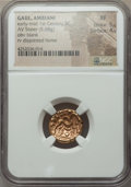 Ancients:Celtic, Ancients: CELTIC GAUL. Ambiani. Ca. 59-50 BC. AV stater (5.68gm)....