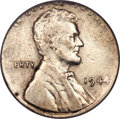Errors, 1944 1C Lincoln Cent -- Struck on a Silver Dime Planchet -- XF40 PCGS....