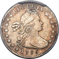 Early Half Dimes, 1796 H10C LIKERTY, V-1, LM-1, R.3 -- Plugged -- PCGS Genuine. XF Details....