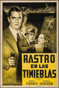 "Movie Posters:Mystery, Meet Boston Blackie (Columbia, 1941). Argentinean Poster (29"" X43.5""). Mystery.. ..."