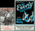 Movie Posters:Rock and Roll, The Everly Brothers with Sam Neely at Paramount Northwest & Other Lot (Northwest Releasing, 1970s). Concert Posters (2) (10.... (Total: 2 Items)