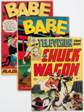 Golden Age (1938-1955):Miscellaneous, Golden Age Miscellaneous Comics Group of 14 (Various Publishers, 1950s).... (Total: 14 Comic Books)