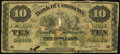 Canadian Currency: , Toronto, ON- The Canadian Bank of Commerce $10 May 1, 1871 Ch. #75-10-18C Counterfeit. ...