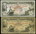 Canadian Currency: , Toronto, ON- Canadian Bank of Commerce $10 Jan. 2, 1935 Ch.#75-18-06 and Ch. # 75-18-08. ... (Total: 2 notes)