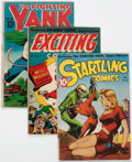Golden Age (1938-1955):Miscellaneous, Nedor Golden Age Alex Schomburg Cover Group (Nedor/Better/Standard, 1940s) Condition: FR.... (Total: 5 Comic Books)