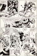 Original Comic Art:Panel Pages, Frank Miller and Klaus Janson Daredevil #160 Page 3 Bullseyeand Black Widow Original Art (Marvel, 1979)....