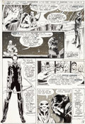 Original Comic Art:Panel Pages, Neal Adams Justice League of America #94 Story Page 5Original Art (DC, 1971)....
