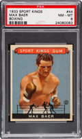 Boxing Cards:General, 1933 Goudey Sport Kings Max Baer #44 PSA NM-MT 8....