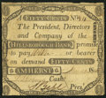 Obsoletes By State:New Hampshire, Amherst, NH- Hillsborough Bank 50¢ Mar. 21, 1808. ...