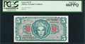 Military Payment Certificates:Series 641, Series 641 $5 PCGS Gem New 66PPQ. . ...