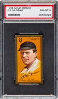 Baseball Cards:Singles (Pre-1930), 1911 T205 Hassan John McGraw PSA NM-MT 8....
