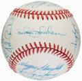 "Autographs:Baseballs, New York Mets Greats ""Dream Week"" Multi Signed Baseball (19Signatures)...."