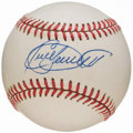 Baseball Collectibles:Balls, Kirby Puckett Single Signed Baseball....