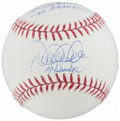 "Autographs:Bats, Derek Jeter ""Mr. November"" and Reggie Jackson ""Mr. October"" SignedBaseball...."