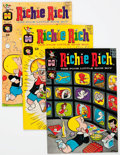 Silver Age (1956-1969):Humor, Richie Rich Group of 82 (Harvey, 1965-69) Condition: Average NM-.... (Total: 82 Comic Books)