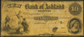 Obsoletes By State:Kentucky, Ashland, KY- Bank of Ashland Counterfeit $10 Aug. 1, 1857. ...