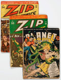 Golden Age (1938-1955):Miscellaneous, Comic Books - Assorted Golden Age Comics Group of 5 (Various Publishers, 1940s) Condition: Incomplete except as noted.... (Total: 5 Comic Books)