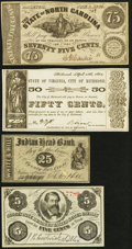 Obsoletes By State:New Hampshire, A Quartet of Fractional Obsolete Notes.. ... (Total: 4 notes)