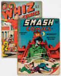 Golden Age (1938-1955):Miscellaneous, Comic Books - Assorted Golden Age Comics Group of 2 (Various Publishers, 1943) Condition: Average GD/VG.... (Total: 2 Comic Books)