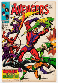 The Avengers #55 (Marvel, 1968) Condition: FN+