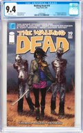 Modern Age (1980-Present):Horror, Walking Dead #19 (Image, 2005) CGC NM 9.4 White pages....