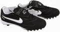 Baseball Collectibles:Others, Mariano Rivera Signed Pro Model Nike Cleats....