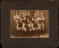 "Basketball Collectibles:Photos, 1900-01 ""L.V.C.C."" Original Cabinet Photograph...."