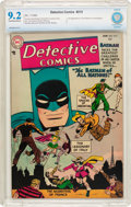 Golden Age (1938-1955):Superhero, Detective Comics #215 (DC, 1955) CBCS NM- 9.2 Off-white to white pages....