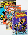 Modern Age (1980-Present):Superhero, The New Mutants #1-5 Multiple Copies Box Lot of 156 (Marvel, 1983)Condition: Average VF/NM....