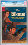 Silver Age (1956-1969):Western, Four Color #1009 The Rifleman - File Copy (Dell, 1959) CGC NM- 9.2Off-white pages....