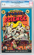 Golden Age (1938-1955):Non-Fiction, Picture Stories from Science #2 Gaines File Pedigree 3/11 (EC,1947) CGC NM 9.4 Off-white to white pages....