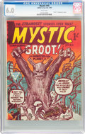 Silver Age (1956-1969):Horror, Mystic #40 British First Groot Appearance (L. Miller & SonLtd., 1963) CGC FN 6.0 White pages....