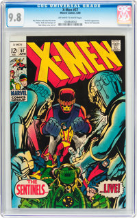 X-Men #57 (Marvel, 1969) CGC NM/MT 9.8 Off-white to white pages