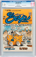 Silver Age (1956-1969):Alternative/Underground, Zap Comix #1 Plymell Edition First Printing (Apex Novelties, 1967)CGC FN/VF 7.0 Cream pages....