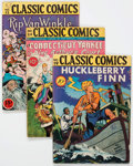 Golden Age (1938-1955):Classics Illustrated, Classic Comics/Classics Illustrated Group of 12 (Gilberton, 1940s) Condition: Average VG-.... (Total: 12 Comic Books)