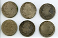 Mexico, Mexico: Charles IV Sestet of Colonial 8 Reales Coins,... (Total: 6coins)