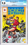 Modern Age (1980-Present):Superhero, Magnus Robot Fighter #0 (Valiant, 1992) CGC NM/MT 9.8 Whitepages....