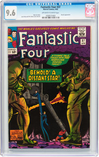 Fantastic Four #37 (Marvel, 1965) CGC NM+ 9.6 Off-white to white pages