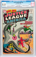 Silver Age (1956-1969):Superhero, The Brave and the Bold #28 Justice League of America - Savannah Pedigree (DC, 1960) CGC VF 8.0 Cream to off-white pages....