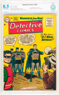 Golden Age (1938-1955):Superhero, Detective Comics #225 (DC, 1955) CBCS VF+ 8.5 Off-white to white pages....