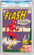 Silver Age (1956-1969):Superhero, The Flash #108 (DC, 1959) CGC VF+ 8.5 White pages....