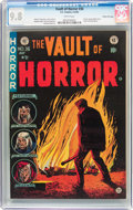 Golden Age (1938-1955):Horror, Vault of Horror #36 Gaines File Pedigree (EC, 1954) CGC NM/MT 9.8White pages....