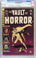 Golden Age (1938-1955):Horror, Vault of Horror #40 Gaines File Pedigree 10/12 (EC, 1954) CGC NM/MT9.8 White pages....