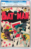 Golden Age (1938-1955):Superhero, Batman #11 (DC, 1942) CGC NM 9.4 White pages....