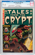 Golden Age (1938-1955):Horror, Tales From the Crypt #38 Gaines File Pedigree 4/12 (EC, 1953) CGCNM+ 9.6 Off-white to white pages....
