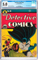 Detective Comics #46 (DC, 1940) CGC VG/FN 5.0 Off-white to white pages