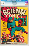 Golden Age (1938-1955):Superhero, Science Comics #8 (Fox, 1940) CGC VF 8.0 Off-white to white pages....