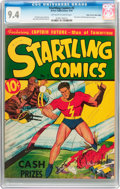 Golden Age (1938-1955):Superhero, Startling Comics #2 Mile High Pedigree (Better Publications, 1940) CGC NM 9.4 Off-white to white pages....